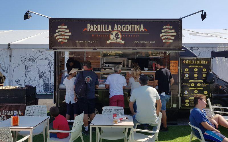 Parilla Argentina, caravana argentina de carne a la brasa