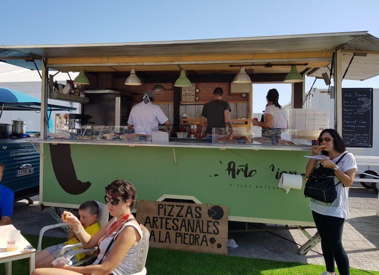 L'ARTE BIANCA, caravana de pizzas artesanales