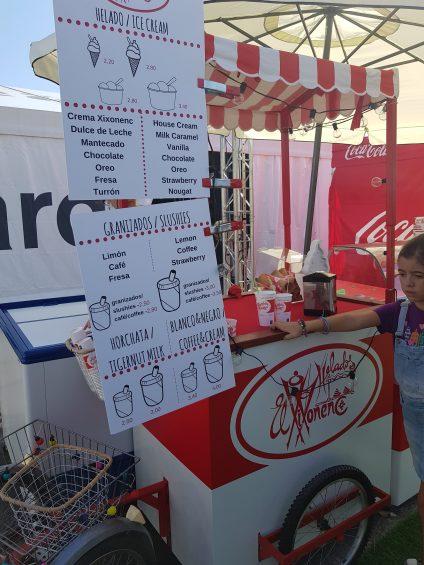Food Truck El Xixonenc, helados artesanos