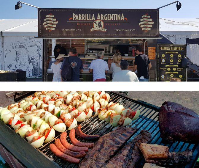 Carne a la brasa en Parrilla Argentina, Puerto de Alicante