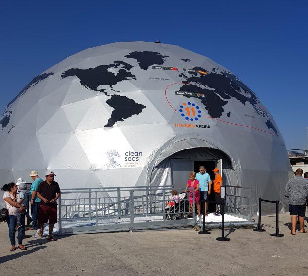 Esfera Volvo Ocean Race, Puerto de Alicante