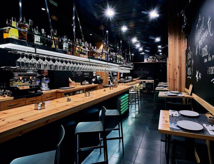 Imagen del interior del bar La Tapeoteca Murcia