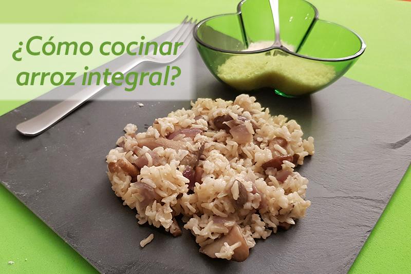 Receta para cocinar arroz integral