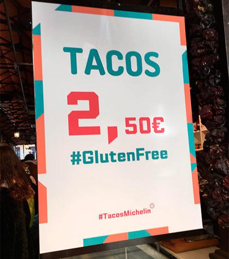 Tacos desde 2,50€ en Madrid