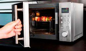 Elaboración Grill con microondas Cecotec