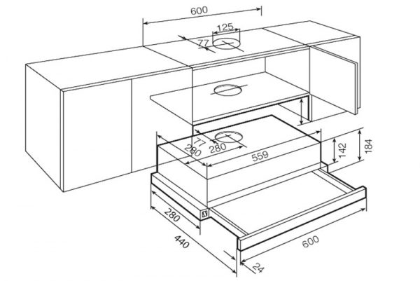 Teka dimensiones modelo TL1 62