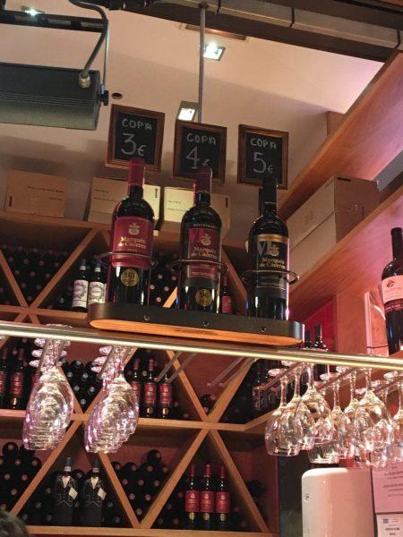Estand de vinos