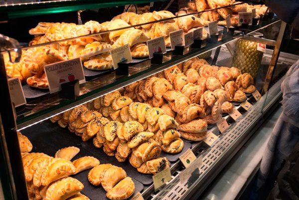 Mercado San Miguel, estand sobre cocina española e internacional