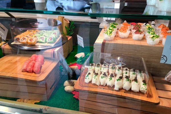 Estan de comida asiática Mercado San Miguel