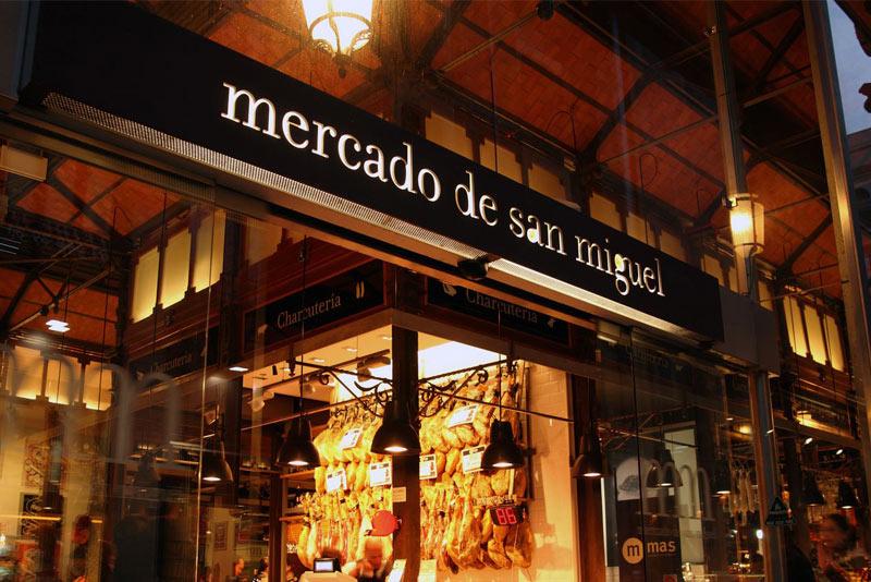 Mercado San Miguel, plaza de San Miguel