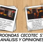 Microondas Cecotec Steel grill. Opiniones y análisis.