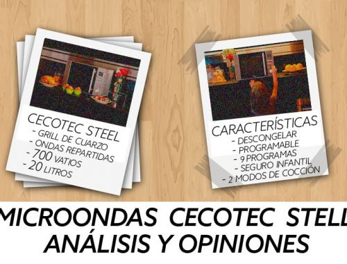 Opinioes Microondas Cecotec Steel con grill