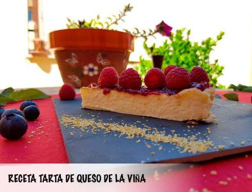 receta tarta de queso casera La viña