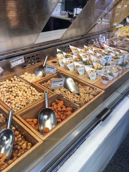 Mercado San Miguel, estand frutos secos