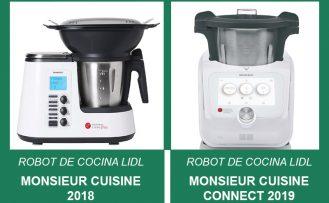 Comparativa robot de cocina Lidl