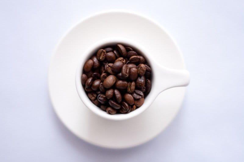 Café como alimento para reducir la tensión