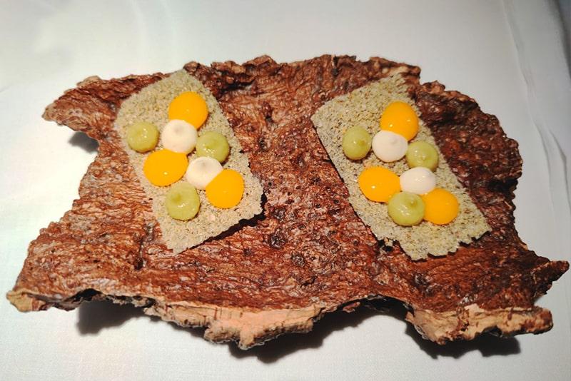 Nuevo diseño de tortilla de bacalao