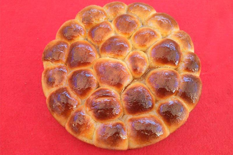 Receta pan dulce o briche