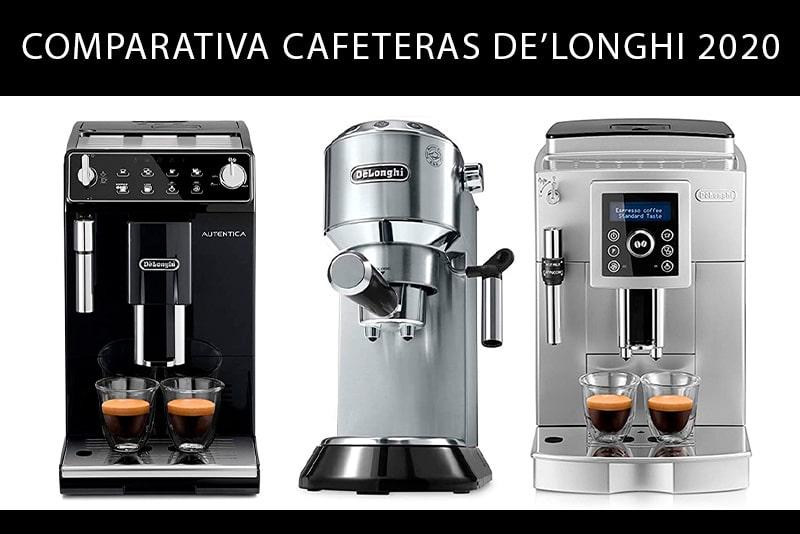 Comparativa cafeteras De'Longhi 2020