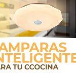 Lámparas inteligentes con altavoz para tu cocina