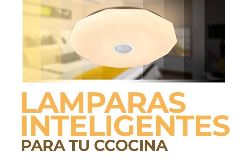 Lámparas inteligentes para tu cocina