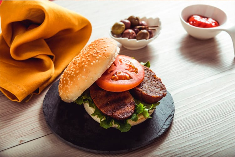 Seitán. Alimento con alto contenido de proteína
