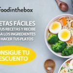 Platos gourmet con Foodinthebox. Elige tus recetas