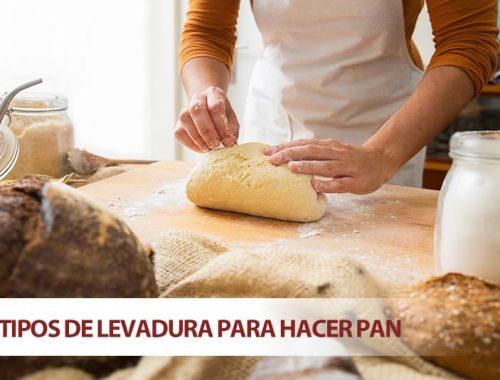 Tipos de levadura para hacer pan