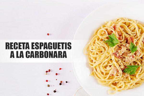 Recetas espaguetis a la carbonara