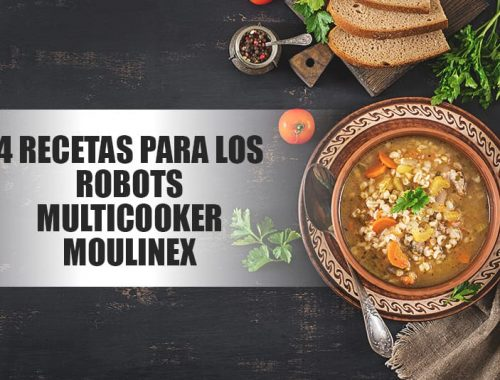 Robots de cocina multicooker moulinex