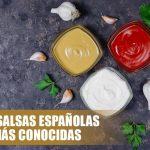 Las salsas españolas más conocidas.