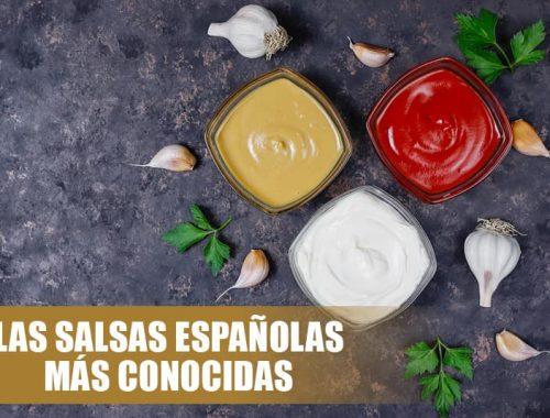 Salsas españolas más conocidas