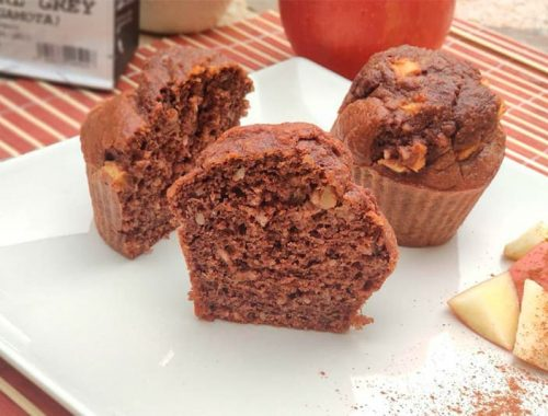 Receta muffin fit de chocolate
