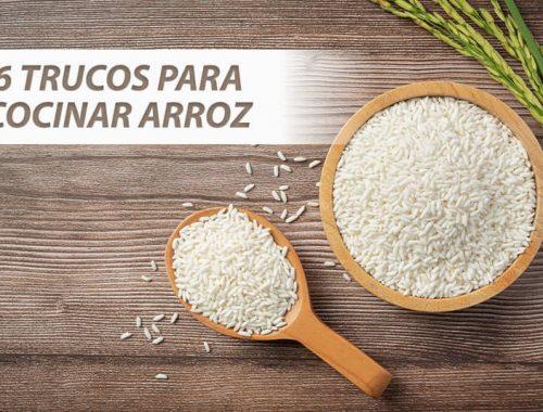 Trucos para cocinar arroz