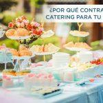 ¿Por qué contratar un catering para eventos en verano?