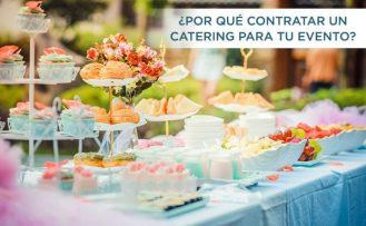 Catering para eventos de verano