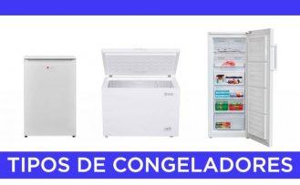 Tipos de congeladores