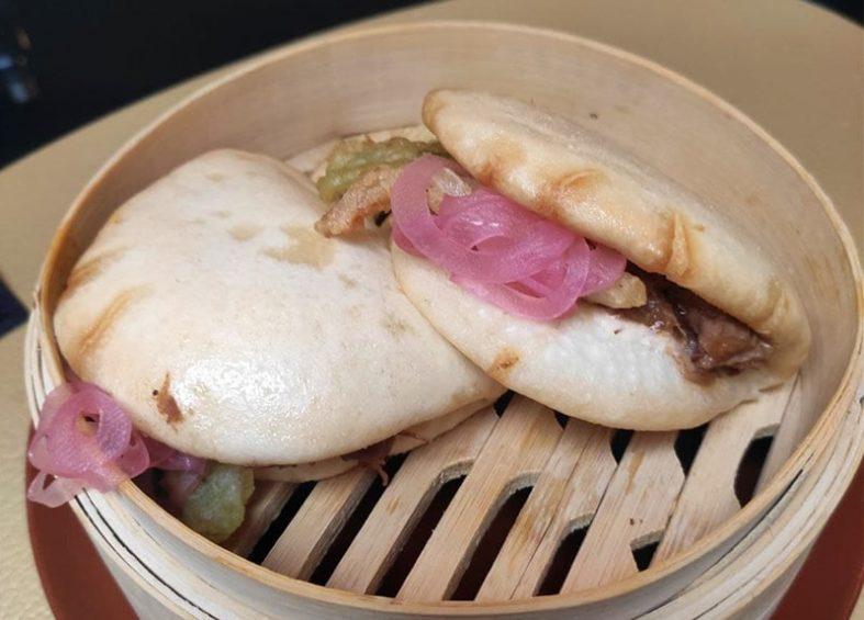 Restaurante Basuki Bilbao: Pan bao de ternera