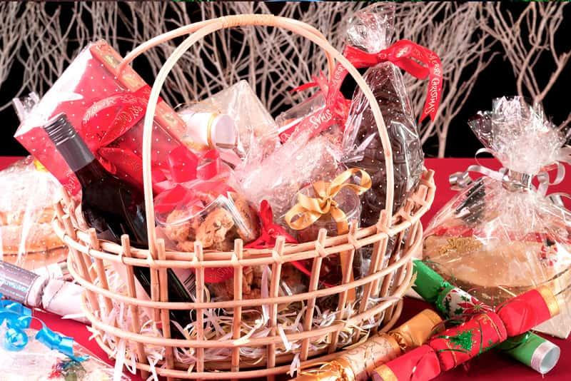 Regalo para navidad: cestas navideñas